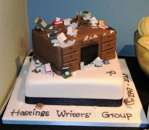 HWG 70th anniversary cake